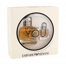 Giorgio Armani Emporio Armani Because It´s You Edp 50 ml + Edp 7 ml naisille 38398
