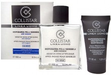 Collistar Linea Uomo 100ml Sensitive After Shave + 30ml Supermoisturizer miehille 80136