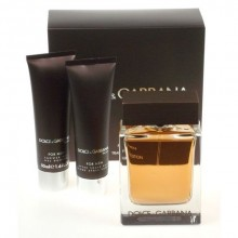 Dolce & Gabbana The One Edt 100ml + 50ml After shave balm + 50ml Shower gel miehille 21930