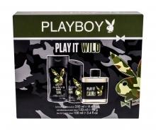 Playboy Play It Wild For Him Edt 100 ml + Shower Gel 250 ml + Deodorant 150 ml miehille 60504