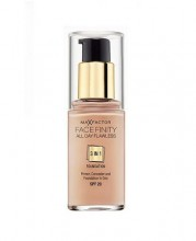 Max Factor Face Finity 3in1 Foundation SPF20 Cosmetic 30ml 45 Warm Almond naisille 71398
