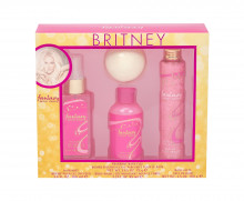 Britney Spears Fantasy Hair Mist 100 ml + Bath Fizzer 75 g + Shower Gel 95 ml + Bath Salt 100 g naisille 41890
