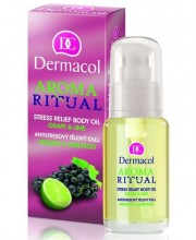 Dermacol Aroma Ritual Body Oil Grape&Lime Cosmetic 50ml naisille 03114