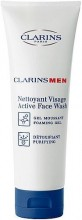 Clarins Men Active Face Wash Cosmetic 125ml miehille 00103
