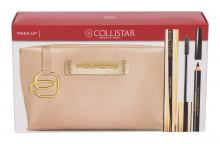 Collistar Infinito Mascara 11 ml + Eye Pencil 2 g Black + Cosmetic Bag Piquadro Extra Black naisille 60834