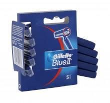 Gillette Blue II Razor 5pc miehille 01753