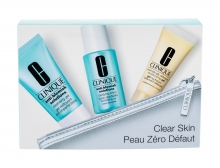 Clinique Anti-Blemish Solutions Cleansing Gel 30 ml + Facial Water 30 ml + Daily Facial Care 15 ml + Cosmetic Bag naisille 83294