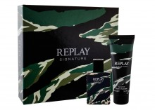 Replay Signature Edt 50 ml + Shower Gel 100 ml miehille 97946