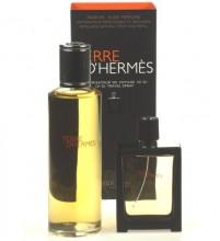 Hermes Terre D´Hermes Perfume 30 ml refillable bottle + Perfume 125 ml refill miehille 03684
