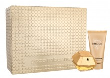 Paco Rabanne Lady Million Edp 50 ml + Body lotion 75 ml naisille 45865