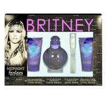 Britney Spears Fantasy Midnight Edp 100ml + 50ml shower gel + 10ml edp + 50ml body lotion naisille 82416