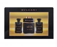 Bvlgari Man In Black Edp 60ml + 40ml Aftershave Balm + 40ml Shower Gel miehille 90033