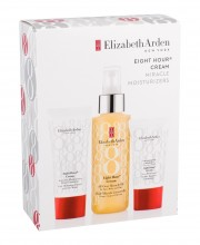 Elizabeth Arden Eight Hour Cream Moisturizing Oil 100 ml + Daily Facial Care 15 ml + Hand Cream 30 ml naisille 08592