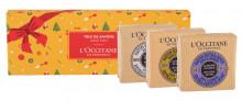 L´Occitane Shea Butter Gentle Soap 100 g + Gentle Soap Verveine 100 g + Gentle Soap Lavender 100 g naisille 85801