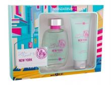 Mandarina Duck Let´s Travel To New York Edt 100 ml + Shower Gel 100 ml naisille 14832
