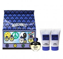 Moschino Toujours Glamour Edt 5ml + 25ml Body lotion + 25ml Shower gel naisille 03262