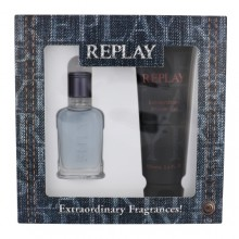 Replay Jeans Spirit! For Him EDT 30 ml + shower gel 100 ml miehille 20110