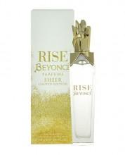 Beyonce Rise Sheer EDP 30ml naisille 21636