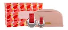 Bvlgari Omnia Coral Edt 65 ml + Edt 15 ml + Cosmetic Bag naisille 00742