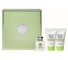 Versace Versense Edt 5ml + 25ml Shower gel + 25ml Body lotion naisille 97138