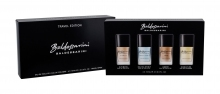 Baldessarini Mini Set 1 Edt Ultimate 15 ml + Edt Nautic Spirit 15 ml + Edt Ambré 15 ml + Eau de Cologne Signature 15 ml miehille 03160