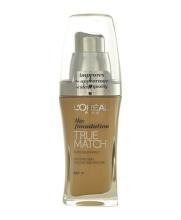 L´Oréal Paris True Match Makeup 30ml D4-W4 Golden Natural naisille 56447