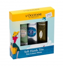 L´Occitane Almond Hand Cream 30 ml + Hand Cream Shea Butter 30 ml + Hand Cream Verveine 30 ml naisille 85385