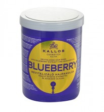 Kallos Blueberry Hair Mask Cosmetic 1000ml naisille 11517