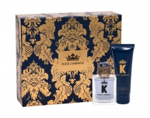 Dolce&Gabbana K Edt 50 ml + Aftershave Balm 75 ml miehille 49555