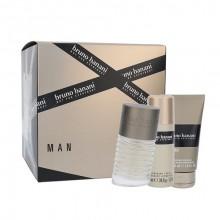 Bruno Banani Man Edt 50ml + 50ml Shower Gel + 50ml Deodorant miehille 80907