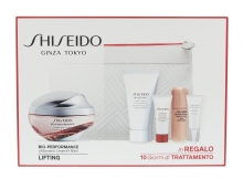Shiseido Bio-Performance Cream 50 ml + Cleansing Foam BENEFIANCE 30 ml + Serum ULTIMUNE 5 ml + Serum LiftDynamic 7 ml + oční péče LiftDynamic 3 ml + Cosmetic Bag naisille 30710