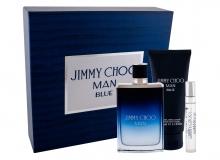 Jimmy Choo Jimmy Choo Man Blue Edt 100 ml + Edt 7,5 ml + Aftershave Balm 100 ml miehille 43700