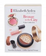 Elizabeth Arden Bronze In The City Kit bronzer Pure Finish Mineral Bronzing Powder 7,7 g + brush 1 pc + blush Ceramide Cream Blush 2,67 g + Beautiful Color Lip Gloss 4 ml Medium naisille 81253