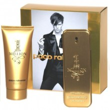 Paco Rabanne 1 Million Edt 100ml + 100ml Shower gel miehille 29438