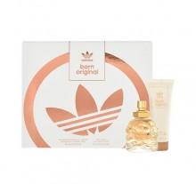 Adidas Born Original Edp 30ml + 75ml body lotion naisille 21279