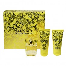 Versace Yellow Diamond Edt 50ml + 50ml Body lotion + 50ml Shower gel naisille 09417