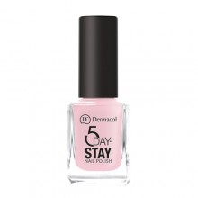 Dermacol 5 Day Stay Nail Polish 11ml 06 First Kiss naisille 59262