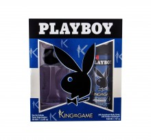 Playboy King of the Game For Him Edt 60 ml + Deodorant 150 ml miehille 67612