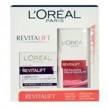 L´Oreal Paris Revitalift 50ml Revitalift Day Cream + 200ml Revitalift Make-up Removing Milk naisille 48412