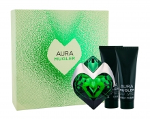 Thierry Mugler Aura Edp 50 ml + Body Lotion 50 ml + Shower Milk 50 ml naisille 31379