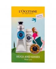 L´Occitane Shea Butter Hand Cream 30 ml + Body Balm Beurre de Karité 10 ml + Lip Balm Ultra Rich Lip Balm 2 g naisille 14122