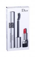 Christian Dior Diorshow Iconic Overcurl Mascara 10 ml + Lipstick Mini Rouge 999 1,5 g 090 Over Black naisille 48345