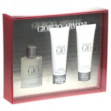 Giorgio Armani Acqua di Gio Edt 50ml + 75ml After shave balm + 75ml Shower gel miehille 66584