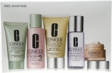 Clinique Daily Essentials Combination Skin 50ml DDM gel + 15ml All About Eyes + 30ml Liquid Facial Soap Mild + 60ml Clarifying Lotion 3 + 50ml Take the Day Off Makeup Remover naisille 72443