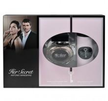 Antonio Banderas Her Secret Edt 50ml + 150ml Deodorant naisille 68396