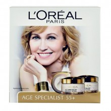 L´Oreal Paris Age Specialist 55+ 50ml Age Specialist 55+ Day Cream + 50ml Age Specialist 55+ Night Cream naisille 85400