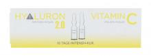 ALCINA Hyaluron 2.0 Regenerative Treatment 5 x 1 ml + Regenerative Treatment Vitamin C 5 x 1 ml naisille 50985