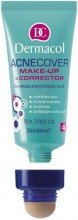 Dermacol Acnecover Make-Up & Corrector 04 Cosmetic 30ml 4 naisille 51105