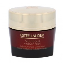 Esteé Lauder Nutritious Vitality8 Night Radiant Creme Mask Cosmetic 50ml naisille 16665