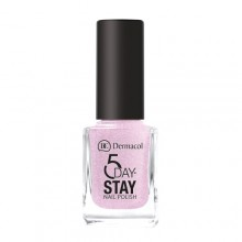 Dermacol 5 Day Stay Longlasting Nail Polish Cosmetic 11ml 03 Secret Wish naisille 59231